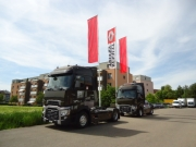 Renault Trucks Ausstellung in Winterthur