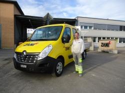 Zani AG Winterthur_Lieferwagen Renault Master