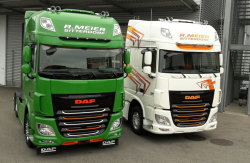 DAF XF 510 FTP 6x2 Super Space Cab (Baby-Achse)